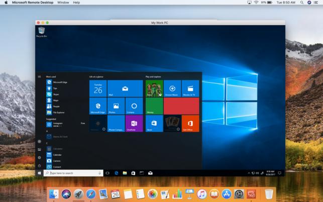 Microsoft Remote Desktop 8